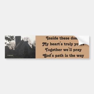 Bumper Sticker Poem Ode To Pray By Ladee Basset
