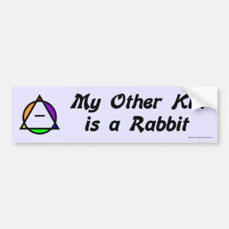 Bumper Sticker -  Rabbit