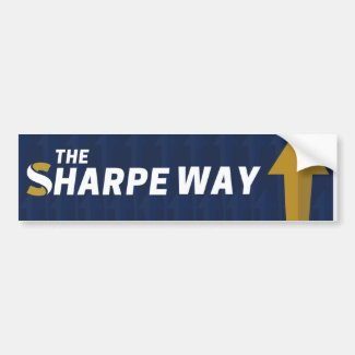 Bumper Sticker - Sharpe Way