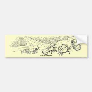 Bumper Sticker / Shellfish
