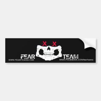 Bumper sticker - Skull Faced