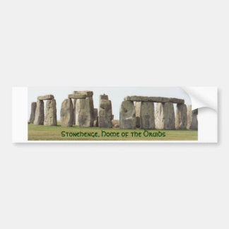 Bumper Sticker- Stonehenge, Home of the Druids Bumper Sticker