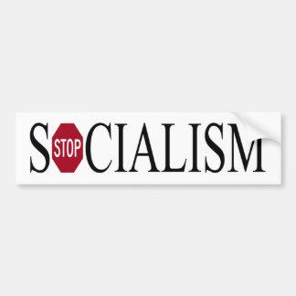 bumper sticker - stop socialism