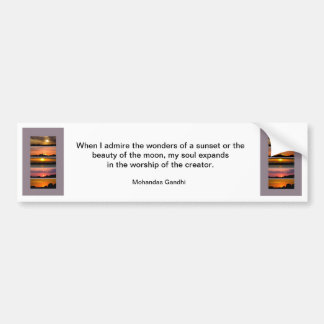 Bumper Sticker - Sunset Strips famous quote