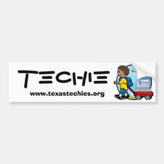 Bumper Sticker - Techie Car Bumper Sticker