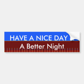 Bumper Sticker Template