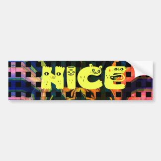 Bumper Sticker Template Car Bumper Sticker