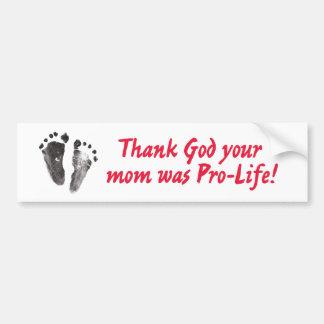 bumper_sticker_thank_God Bumper Sticker