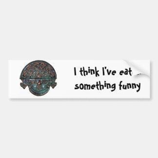 Bumper Sticker - Think I've Eaten Something Funny Car Bumper Sticker