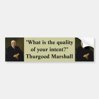 Bumper Sticker : Thurgood Marshall