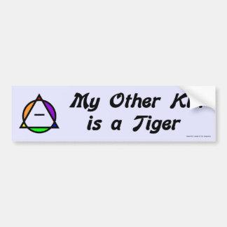 Bumper Sticker - Tiger