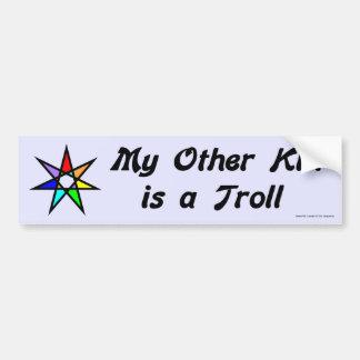 Bumper Sticker -  Troll