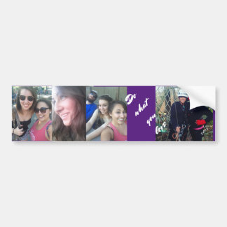 "Bumper Sticker turned into ""Family Photo Stickers"""