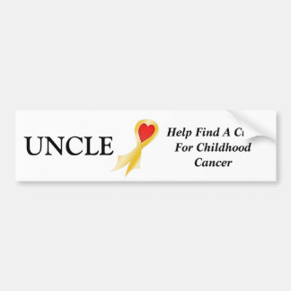Bumper Sticker Uncle