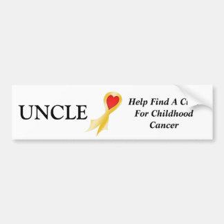 Bumper Sticker, Uncle Bumper Sticker