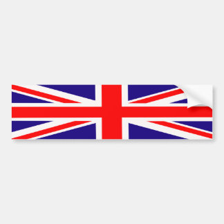 Bumper Sticker Union Jack
