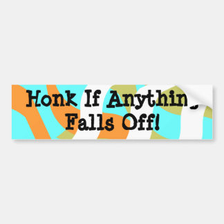 Bumper Sticker Vintage RVing Humor IceBreakers Fun Car Bumper Sticker