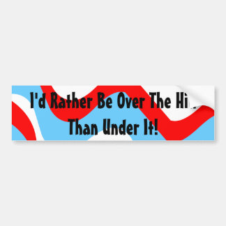 Bumper Sticker Vintage RVing Humor IceBreakers Fun