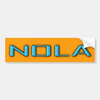Bumper Sticker Visual Fun NOLA New Orleans Promote