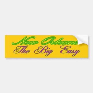 Bumper Sticker Visual Nickname New Orleans Promote