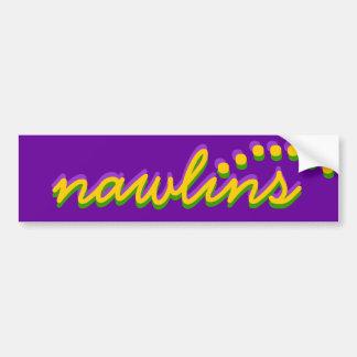 Bumper Sticker Visual NOLA New Orleans nawlins