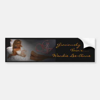 Bumper Sticker: Wendie Lee-Anne, Bumper Sticker
