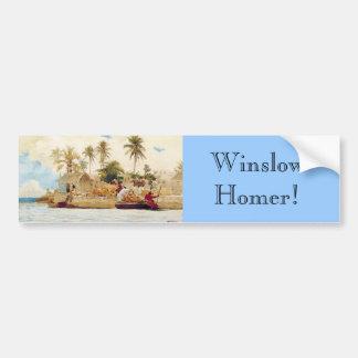 Bumper Sticker : Winslow Homer Sponge Fishermen