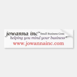 Bumper Sticker With Website