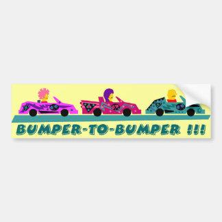 Bumper-to-Bumper Bumper Sticker