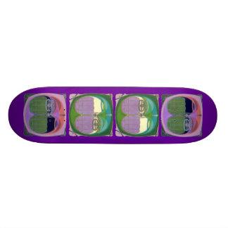 Bumper to Bumper Traffic Skateboard Deck