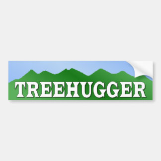 BUMPER treehugger Bumper Sticker