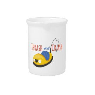 BumperCars_TrashandCrash Drink Pitcher
