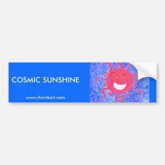 Bumpersticker - Cosmic Sunshine Car Bumper Sticker