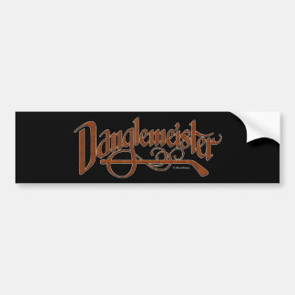 Bumpersticker de Danglemeister (cerdo) Pegatina De Parachoque