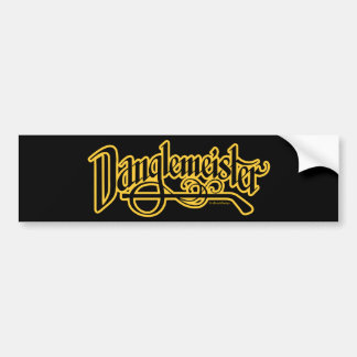 Bumpersticker de Danglemeister (oro) Etiqueta De Parachoque