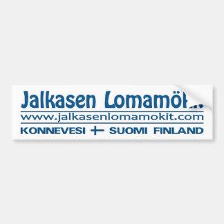 Bumpersticker de Jalkasen Lomamökit Etiqueta De Parachoque
