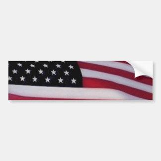Bumpersticker de la bandera de los E.E.U.U. Pegatina Para Auto
