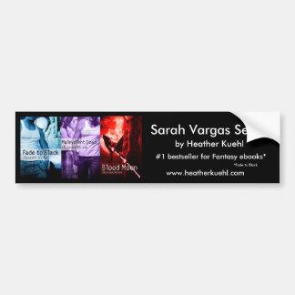 Bumpersticker de la serie de Sarah Vargas Pegatina Para Auto