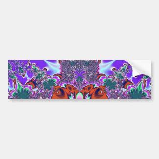 Bumpersticker de lujo #2 del fractal pegatina para auto