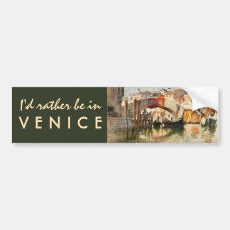Bumpersticker de Venecia de Roussoff Pegatina Para Auto