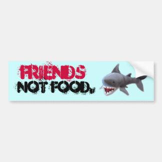 Bumpersticker del tiburón etiqueta de parachoque