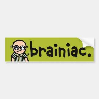 bumpersticker for the brainiac pontiac. bumper sticker