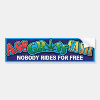 BumperSticker - NO Free Ride 01 Bumper Sticker