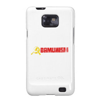 BUMPERSTICKER - OBAMUNISM RED- Faded.png Samsung Galaxy S2 Cases