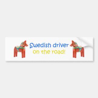 BumperSticker para sueco Pegatina Para Auto