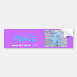 Bumpersticker -Peace Bumper Stickers