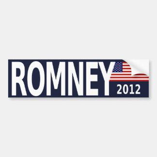bumpersticker_romney_2012 pegatina de parachoque