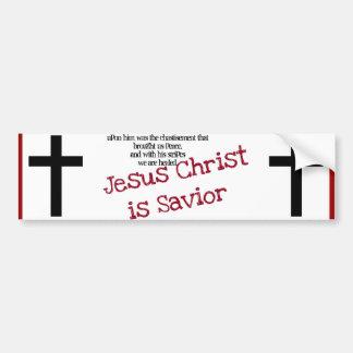 Bumperstickers cristiano pegatina de parachoque
