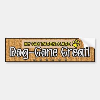 BUMPERSTICKERS - Dog-Gone Great Car Bumper Sticker