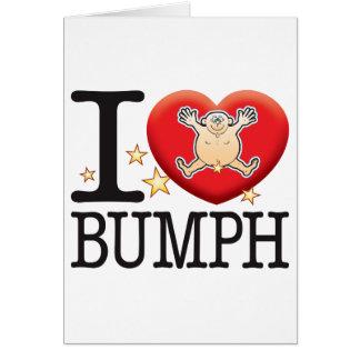 Bumph Love Man Greeting Card